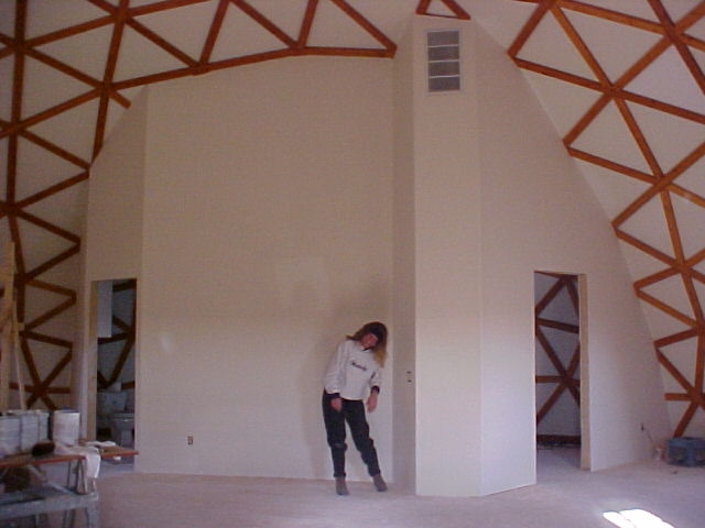 Photos Of 48 Foot Diameter Dome Home Built By Faze Change