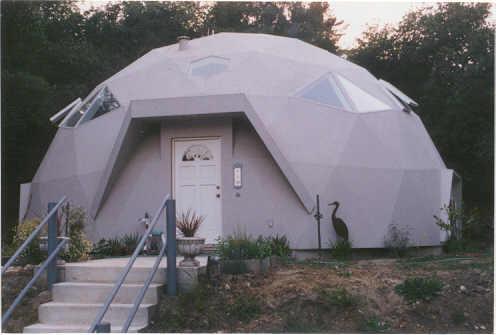 Econodome kits for Concrete kit homes